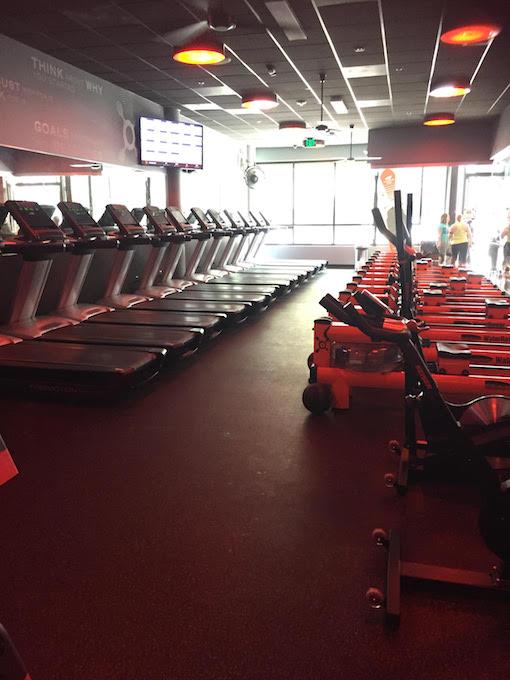 Image of treadmills