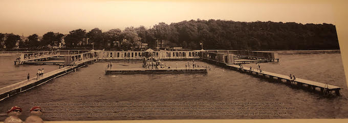 Image of vintage photo of bathers